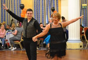 Nathan and Me competing Europeans 2016 - cha cha