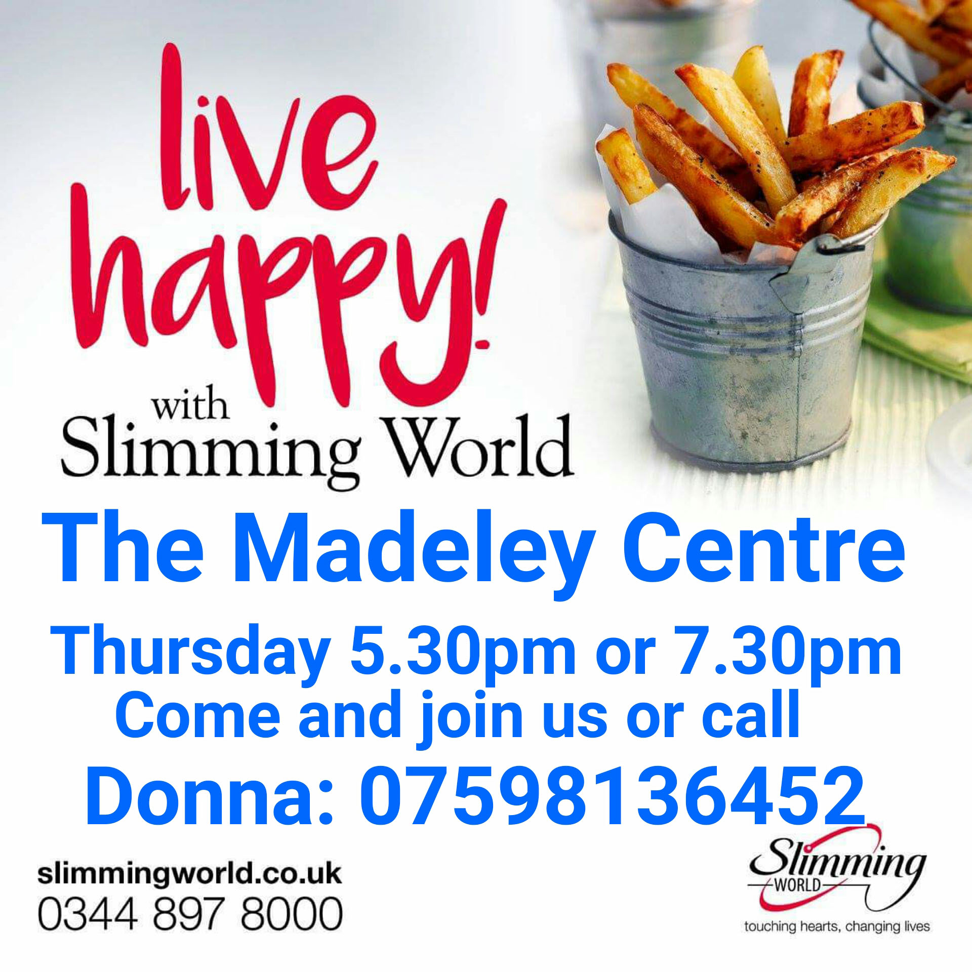 New Slimming World Consultant The Madeley Centre